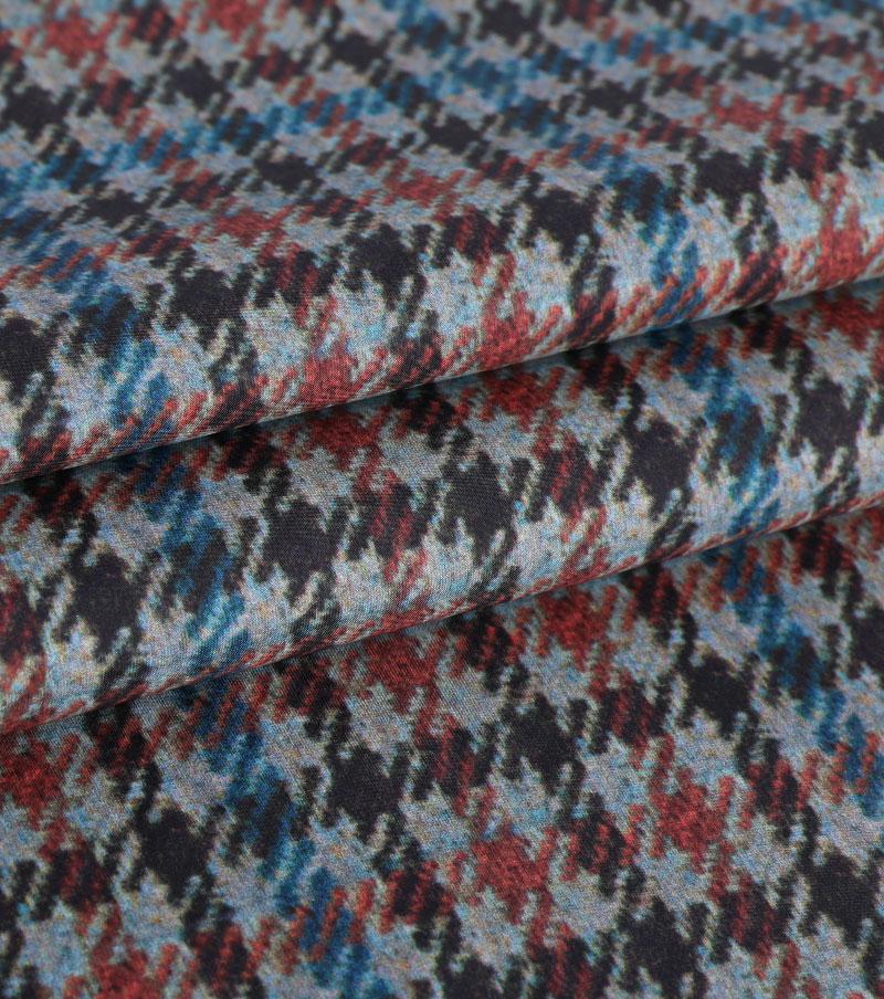 ART.N-2917T Tissu en mousseline de soie pour l'impression des femmes