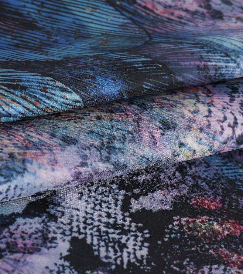 ART.N-2917D Nouveau design de tissu d'impression numérique